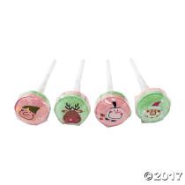 Christmas Character Lollipops