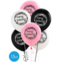 Another Year of Fabulous Balloons 15ct