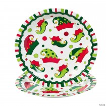 Elf Paper Dinner Plates - 8 Ct.
