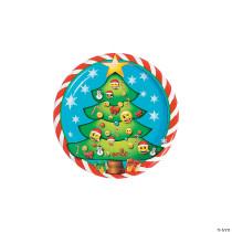 Emoji™ Christmas Dessert Plates - 8 Ct.