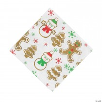 Gingerbread Party Luncheon Napkins