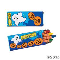 Halloween Crayons
