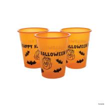 Happy Halloween Plastic Cups