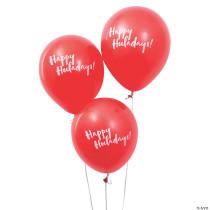 "Happy Huladays 11"" Latex Balloons"
