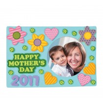 Mother's Day Picture Frame Magnet Craft Kit