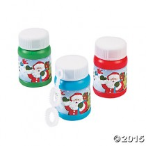 Mini Holiday Bubbles