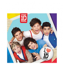 One Direction Lunch Napkins 16ct