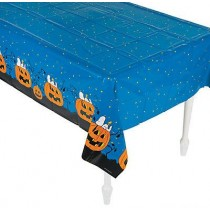 Halloween Plastic Tablecloth