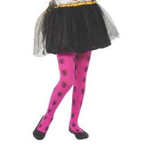 Pink Kids Spider-Girl Tights
