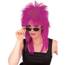 Purple Super Star Wig
